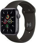 Apple Watch SE Uzay Grisi Alüminyum Kasa ve Spor Kordon
