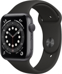 Apple Watch Series 6 Uzay Grisi Alüminyum Kasa ve Spor Kordon